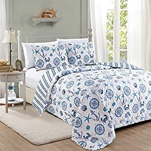 61w-ovj0YkL._SS300_ Coastal Bedding Sets & Beach Bedding Sets