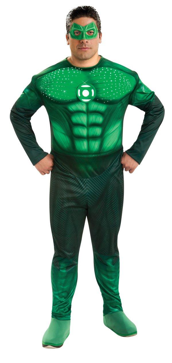 Grün Lantern Lantern Lantern Muskel-Kostüm mit LED Lichteffekt - grün - XXL b244a8