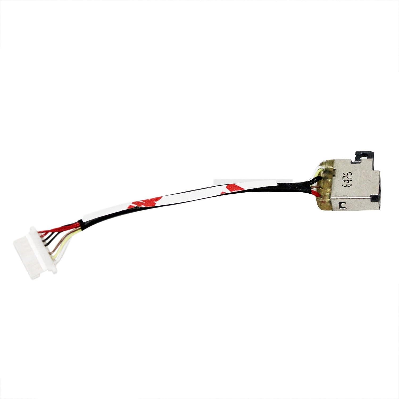 GinTai DC Power Jack Harness HP Spectre X360 13-4003dx 13-4005dx 13-4010ca 13-4103dx