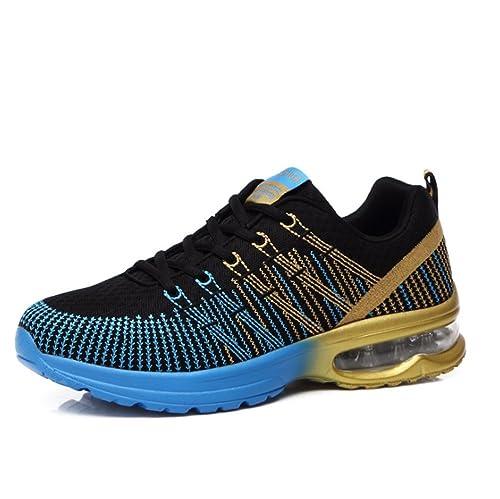 Zapatillas De Running Unisex Adulto Calzados para Correr en Asfalto para  Hombre Mujer Zapatos para Deportes f4f668e917ebb