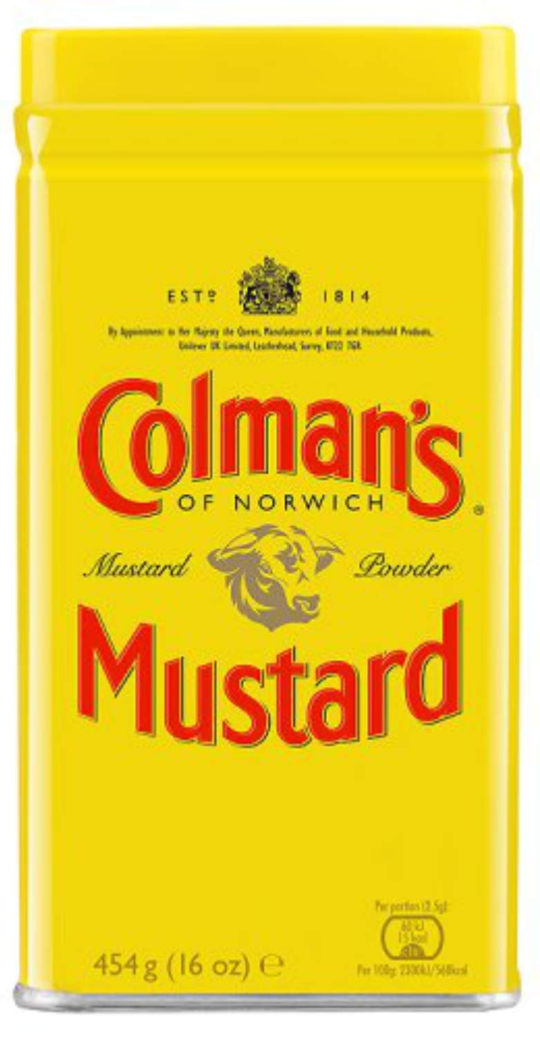 Amazon Com Colman S Dry Mustard Powder 16 Ounce Mustard Spices And Herbs Grocery Gourmet Food