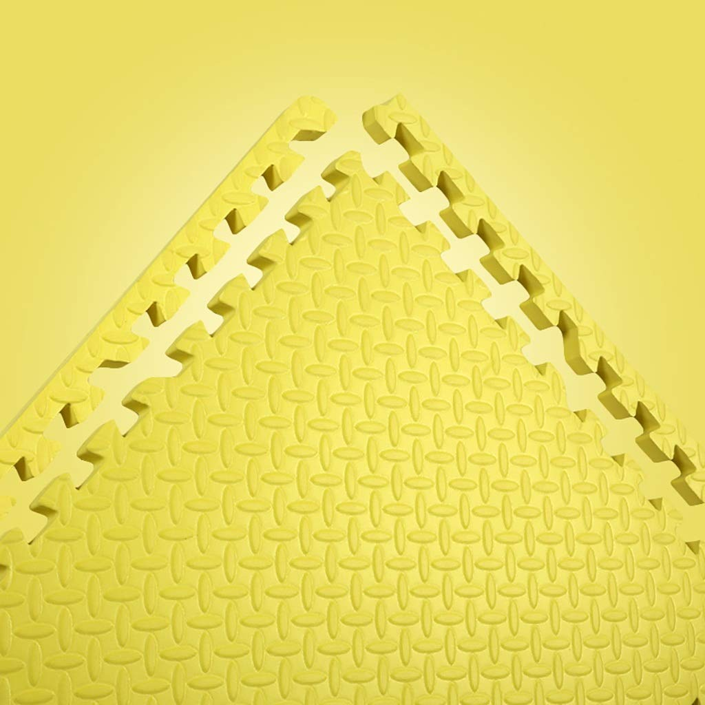 primera reputación de los clientes primero Amarillo 16 piece LFY Puzzle Foam Jugar Mat Mat Mat Color sólido para niños - 4 6 8 12 16 Azulejos (Color   Amarillo, Tamaño   16 Piece)  caliente