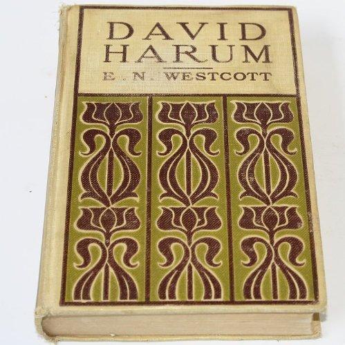 DAVID HARUM BY EDWARD NOYES WESTCOTT 1898