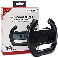 MoKo Nintendo Switch volante, [2 unidades] Manipulação de jogo de corrida para controle de controle de controle de joy…