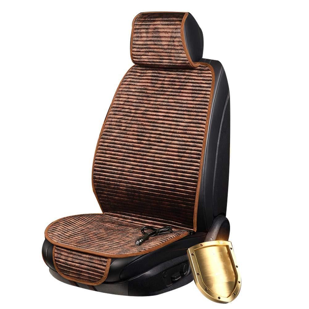 Seasaleshop Auto Sitzkissen Beheizbar Sitzauflage Sitzheizung Warm Up f/ür Auto Zuhause B/üro Stuhl Doppelsteckdose f/ür 12V Zigarettenanz/ünder