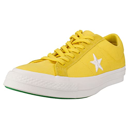 Converse One Star Ox Uomo Gold Green Scarpe 8.5 UK