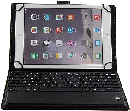 J&H Funda universal de piel para teclado para tablet Lenovo ...