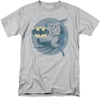 DC Comics - Camiseta clásica de Batman para hombre, color plateado: Amazon.es: Ropa y accesorios