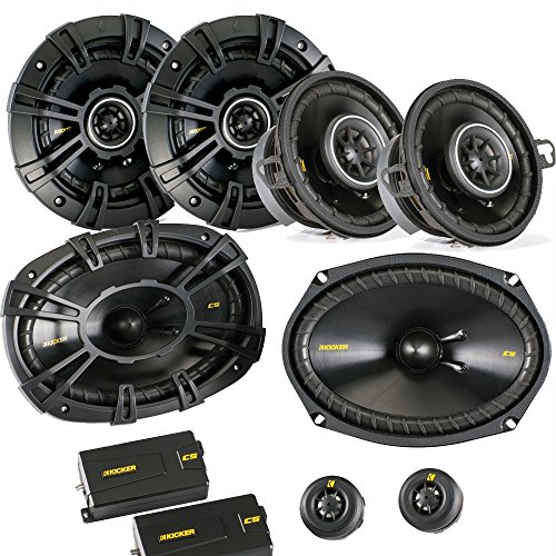 Kicker for Dodge Ram Truck 02-11 speaker bundle- CS 6x9
