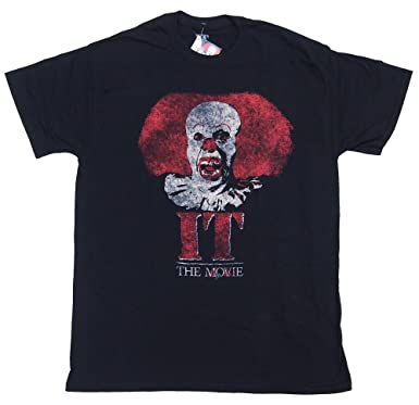 IT,THE MOVIE ・PENNYWISE CLOWN LOGO Tシャツ ・オフィシャル Tシャツ 映画T