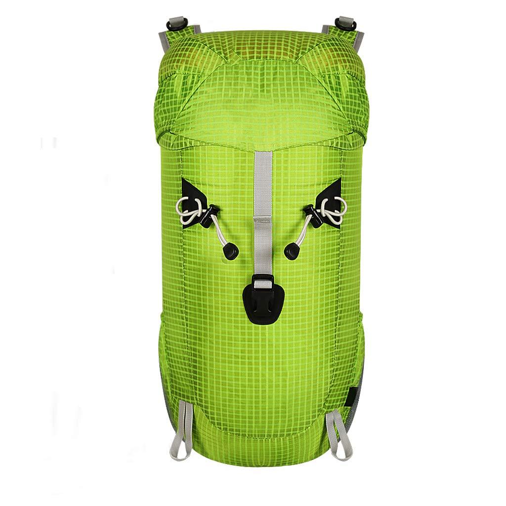 XYW-0006 Outdoor Bergsteigenbeutel Schulter Faltbare leichte Reiten Camping Wandern Tasche Männer und Frauen 30L