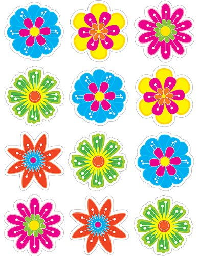 Teacher Created Resources Fun Flower Mini Accents -