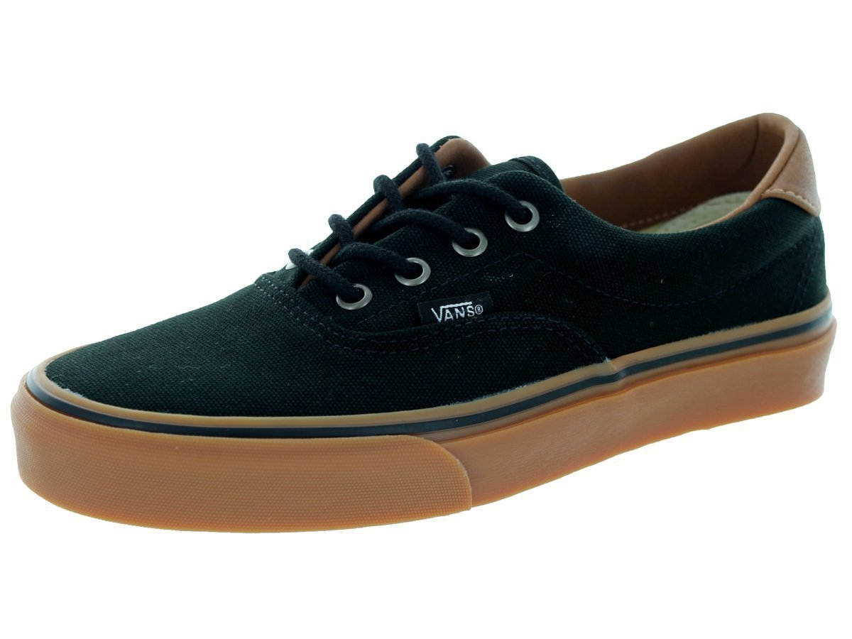 Vans Unisex Era 59 Skate Shoes B00L4IN4W8 10.5 M US|Black/Classic Gum Skate