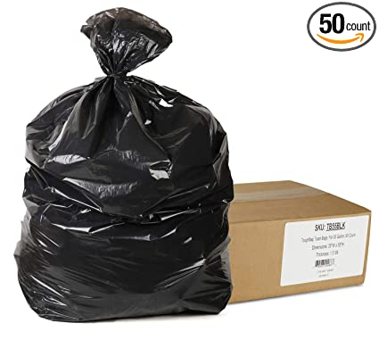 Trash Duty For Students With Special >> Amazon Com Toughbag Trash Bags For 55 Gallon 50 Count Health