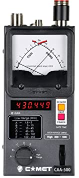 Review Comet CAA-500 Antenna Analyser