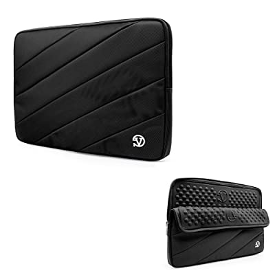 "13.3-Inch Laptop Sleeve Tablet Pouch for HP EliteBook / Stream 11 / Chromebook / ProBook x360 / Envy 13 / Lenovo Yoga 910 / IdeaPad / Chromebook / ThinkPad / Microsoft Surface 13.5"" (Black)"