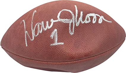 e74cd6f46 Image Unavailable. Image not available for. Color  Signed Warren Moon  Football ...