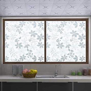 Sichtschutzfolie Fenster 3d Unregelmassige Blatt Muster Fensterfolie