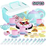 Amazon Com 23 Piece Tea Time Trolley Set Toys Amp Games