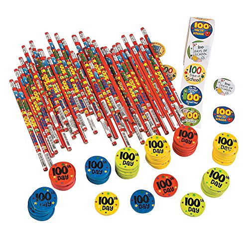 Assortment (100th Day Of School Stickers)