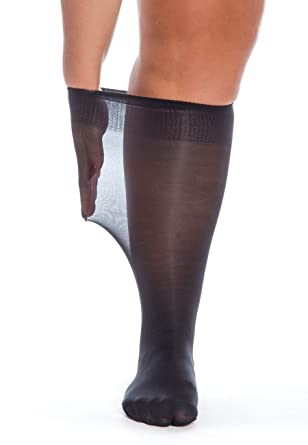 5e64abb26 All Woman Extra Wide Knee-highs/Pop Socks Alber's 40 Denier Microfibre PACK  OF