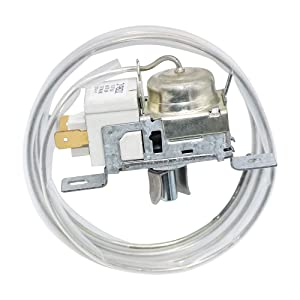 2198202 Refrigerator Cold Control Thermostat Compatible with Whirlpool Kenmore 2161284,2198201,PS329884,AP3037004