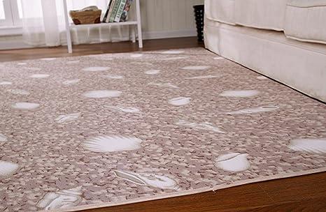 Amazon.com: Patrón Coral gruesa alfombra, sala de estar mesa ...