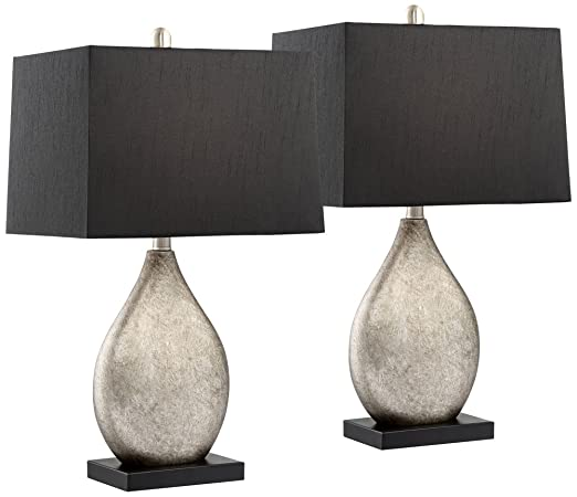 Marco Table Lamp With Black Shade Set Of 2