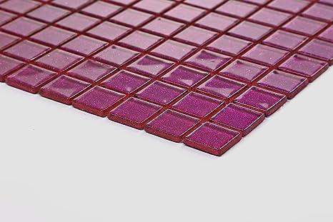 Cm modello vetro mosaico piastrelle modello in viola con