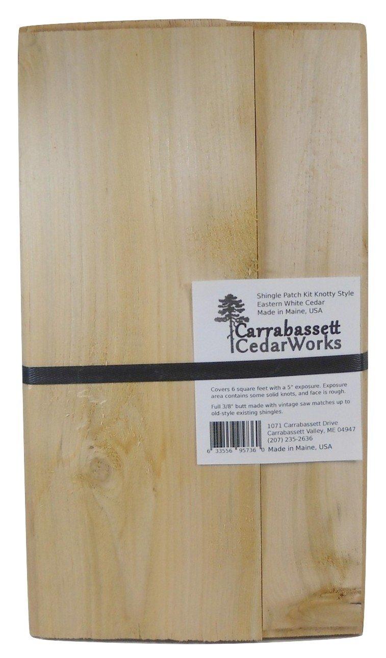 Cedar Shingle Patch Kit Knotty Style