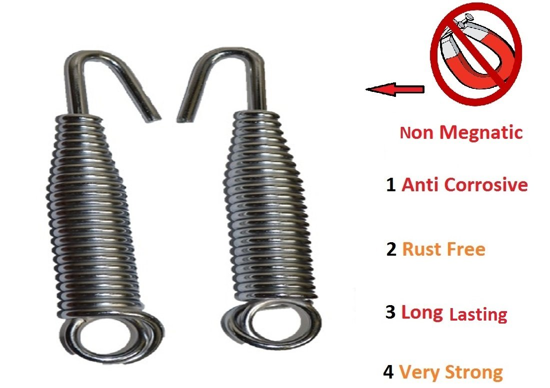 kaushalendra Stainless Steel Spring for Hammock Chair Non Magnetic