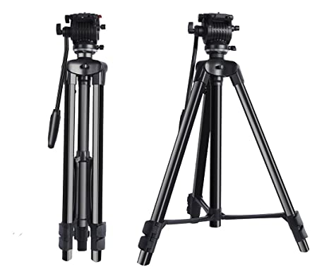 XGeek - Trípode de aluminio para cámara réflex digital profesional ...
