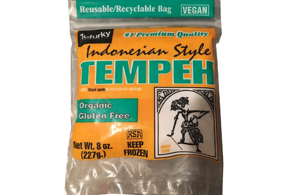 Indonesian Style Tempeh (Organic Gluten Free) - 8oz (Pack of 1)