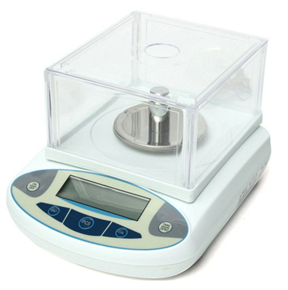 CGOLDENWALL High precision analytical electronic balance, analytical laboratory jewelry scalesprecision gold scalesClark scales kitchen precision weighing electronic scales 0.001g (300g, 0.001g)