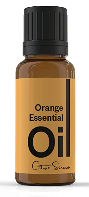Cielune Orange Essential Oil - 100% Pure, All Natural Cold Pressed - Therapeutic Grade - Ideal for Aromatherapy - Used as an Anti-inflammatory, Antiseptic, Antidepressant, Aphrodisiac, Diuretic, Sedative, Insecticide - Natural Remedy for Improving Digestive Health, Brain Function & More - Satisfaction Guaranteed - 10ML