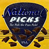 National Thumb Pick Banjo pick Dobro Pick Bluegrass Pick 12 Pack Tortiose Medium