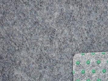 Kunstrasen Rasenteppich mit Noppen 200 cm Breite Farbe blau-grau Balkonteppich