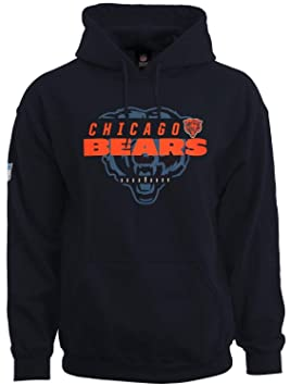 NFL Football Chicago Bears Sudadera Sudadera con capucha suéter para Great Value, azul: Amazon.es: Deportes y aire libre