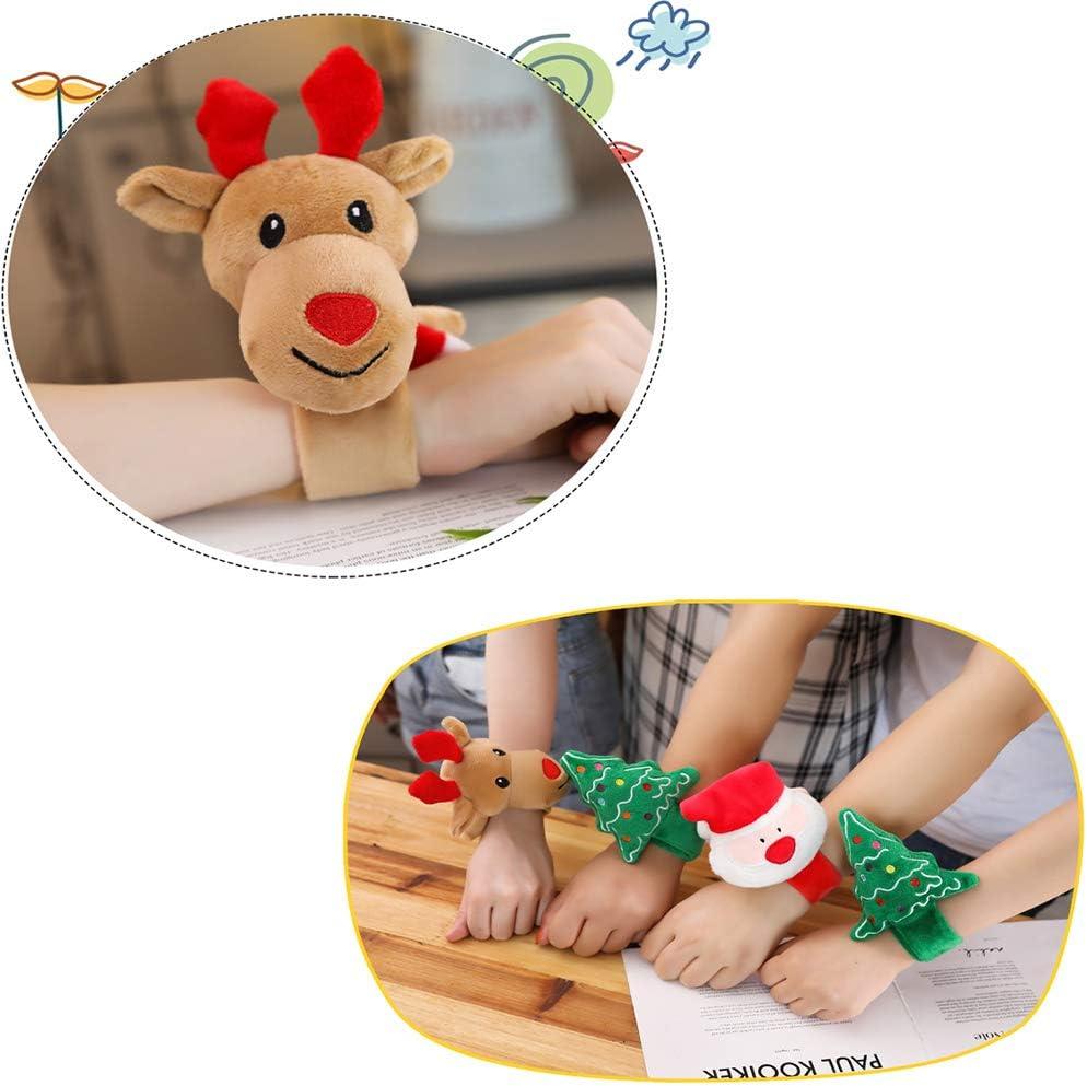 ALAIX Christmas Bracelet Wristband Creative Cute Doll Bracelet for Kids Santa Claus