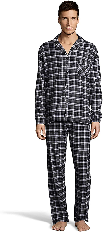 Mens Flannel Pajamas (0140)