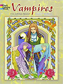 vampires coloring book dover coloring books - Dover Coloring Book