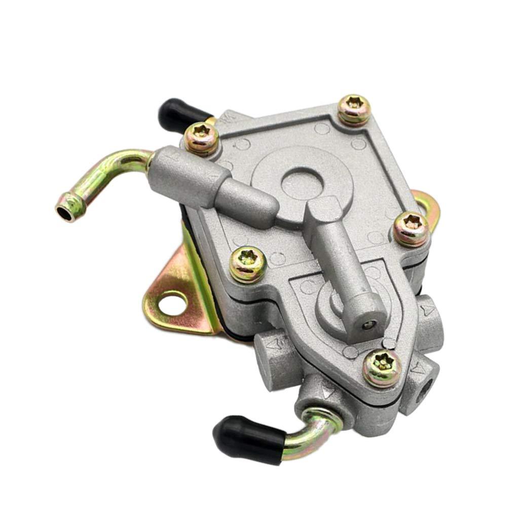 D DOLITY Popme à Essence Fuel Pump en Alliage d'Aluminium d'ATV UTV