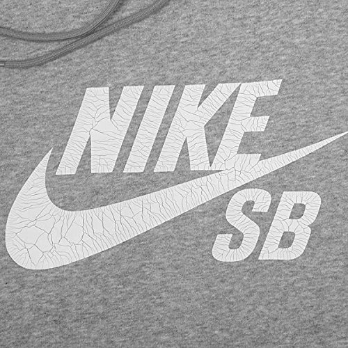 Nike SB Icon Crackle Pullover Hoodie Men's Skate Boarding Hooded Top Grey  (X-Large): Amazon.co.uk: Clothing