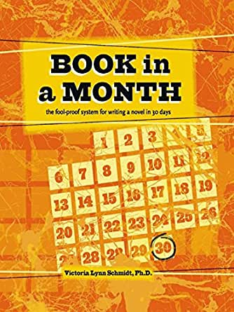 Book In A Month The Fool Proof System For Writing A Novel