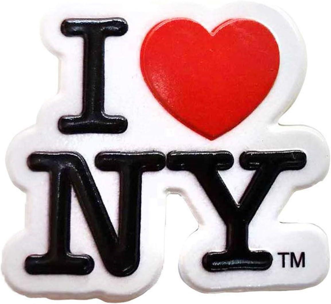 I Love New York City Souvenir NY Super-magnetic Refrigerator Magnet