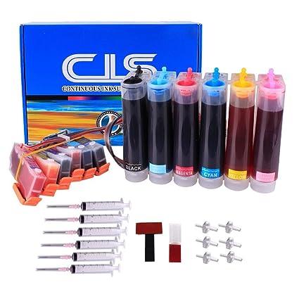Recargable de tinta continua sytem CISS para Epson serie 24 ...