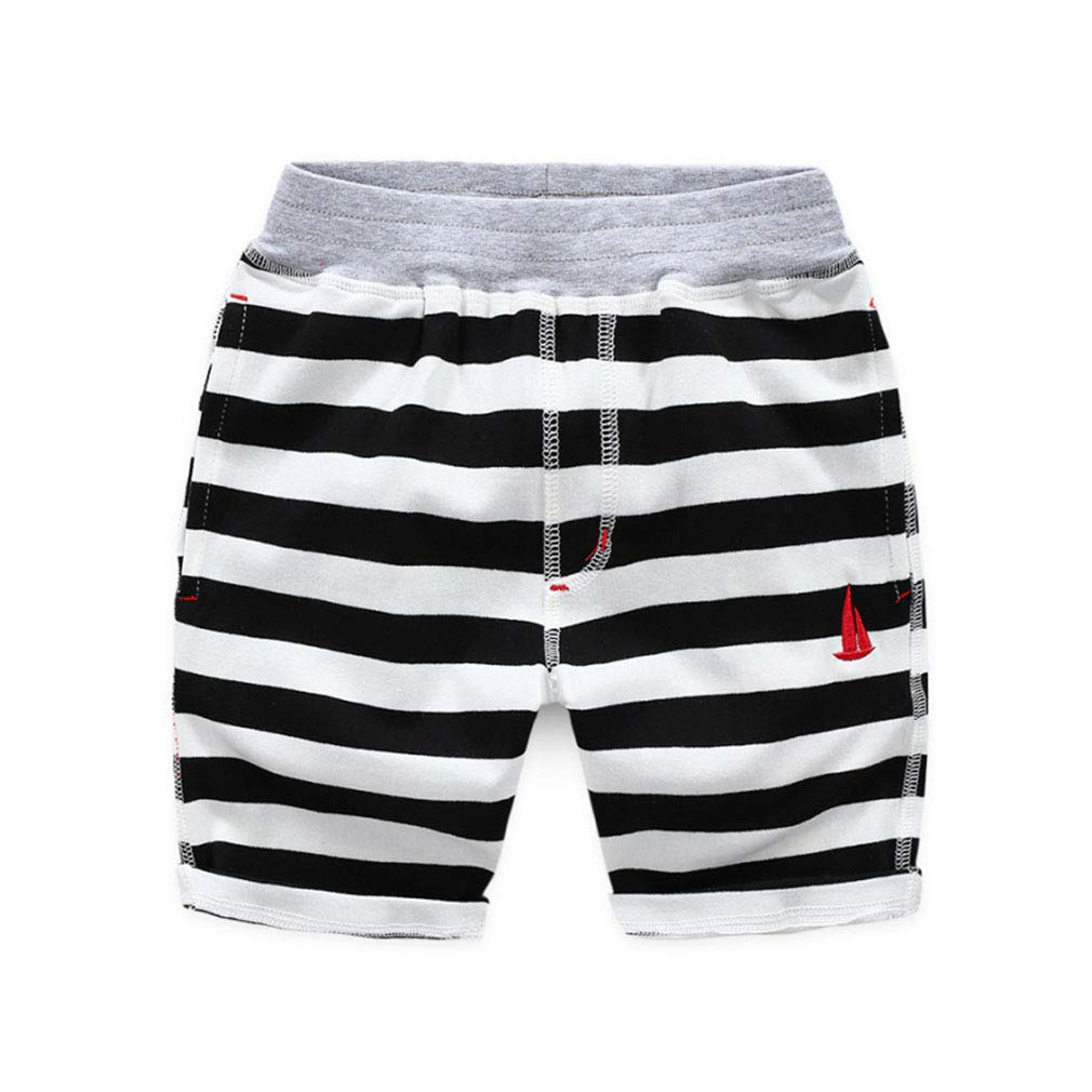 Baby Toddler Boys Classic Knit Cotton Sports Casual Shorts