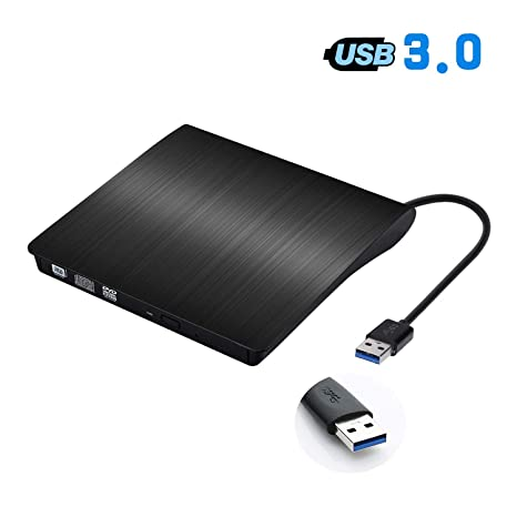 Amazon.com: Unidad de CD externa ACETEND USB 3.0 portátil CD ...
