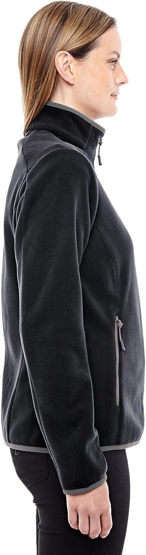 Ash City -BLCK// CARBON -L 78811 North End Sport Red Vector Interactive Polartec Fleece Jacket