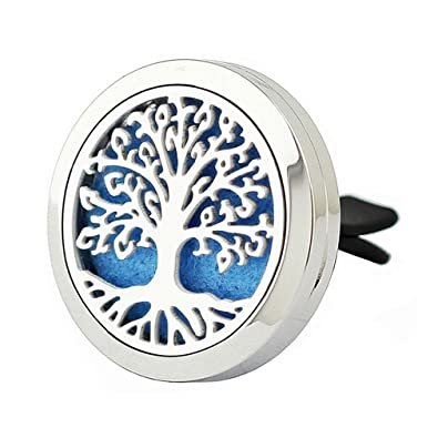 Automobiles & Motorcycles Car Air Auto Vent Freshener Essential Tree Car Styling Diffuser Fragrance Perfume Stainless Oil Diffuser Gift Locket Decor New Varieties Are Introduced One After Another